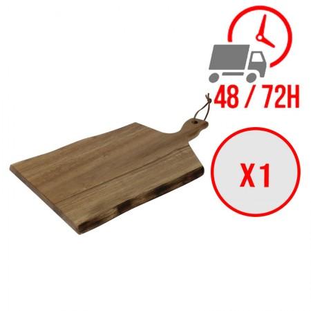 Planche en bois à bords ondulés 355x250 mm / x1 / Olympia