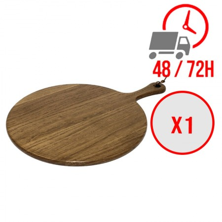 Planche en bois ronde (Ø)355 mm / x1 / Olympia