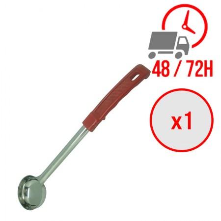 Louche pleine rouge 60ml / x1 unité / Restonoble