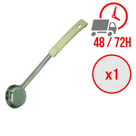 Louche pleine verte 120ml / x1 unité / Restonoble