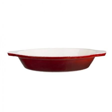 plat à gratin rond rouge Ø150 mm / x1 / Vogue