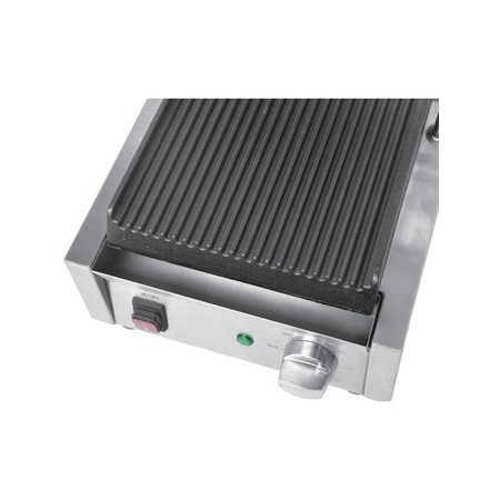 Grill de contact lisse/lisse simple 290x395mm / Buffalo