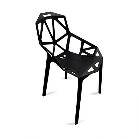 Chaise Ruby - Noir / RESTONOBLE