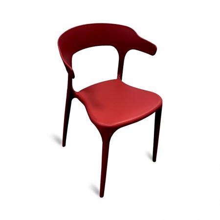 Chaise Lana - Rouge (lot de 2) | Enlèvement entrepôt / RESTONOBLE