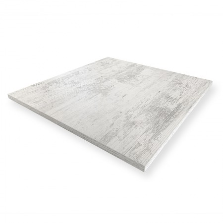 Plateau de table 60x60 cm - Blanc Antique / RESTONOBLE