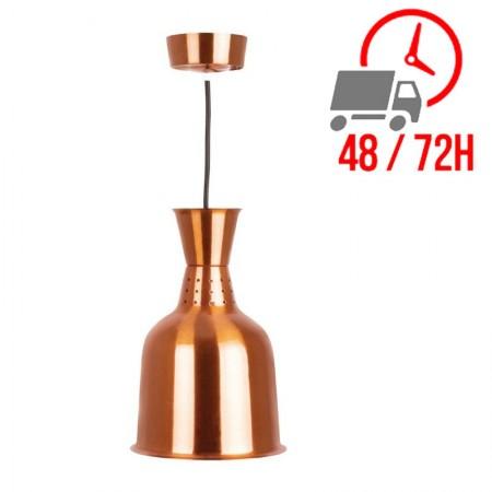 Lampe chauffante standard finition laiton / Buffalo