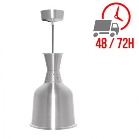 Lampe chauffante standard finition métal brossé / Buffalo
