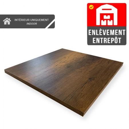 Plateau de table 60x60 cm - Baroque / RESTONOBLE | Enlèvement Entrepôt