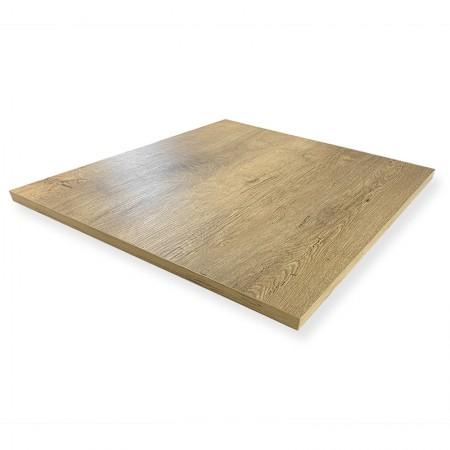 Plateau de table 70x70 cm - Chêne / RESTONOBLE | Enlèvement Entrepôt