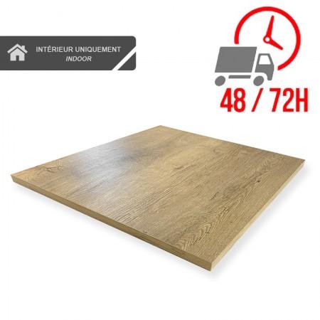 Plateau de table 70x70 cm - Chêne / RESTONOBLE