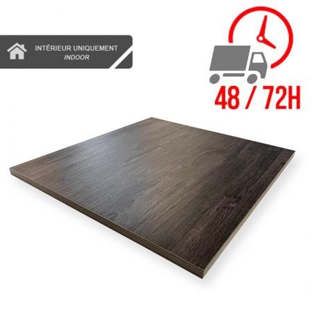 Plateau de table 70x70 cm - Volcanique / RESTONOBLE