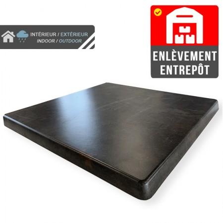 Plateau de table 70x70 cm stratifié - Météore / RESTONOBLE | Enlèvement entrepôt