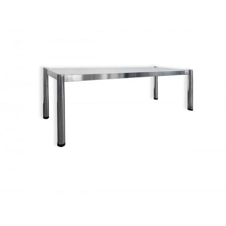 Passe-plat inox 1400 x 350 mm - Hauteur 400 mm / RESTONOBLE