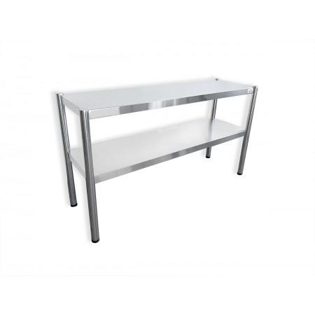 Passe-plat inox 1400 x 350 mm - Hauteur 700 mm / GOLDINOX
