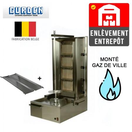 Machine à kebab 4 feux Gaz de ville / GURDEN | Enlèvement entrepôt