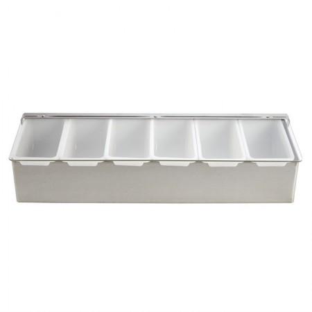 Boîte à 6 compartiments / 475ml / Olympia
