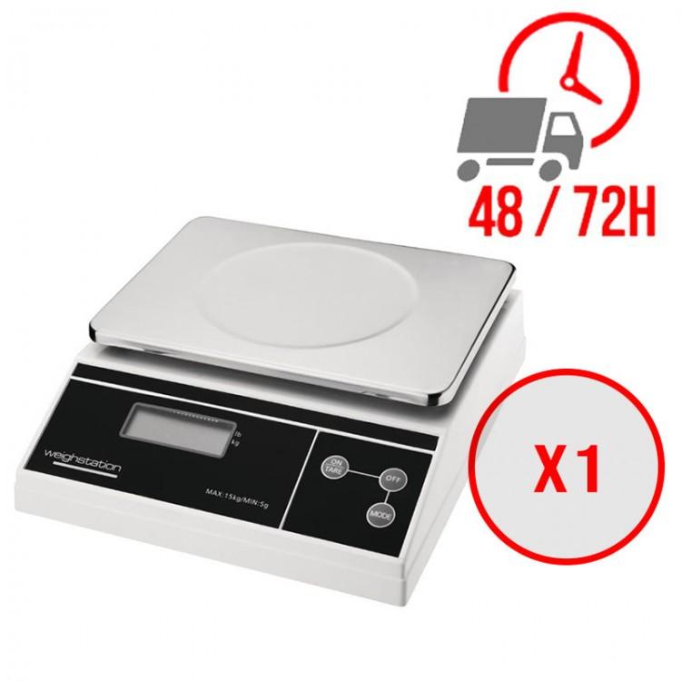 Balance électronique à plateau 15kg / Weighstation