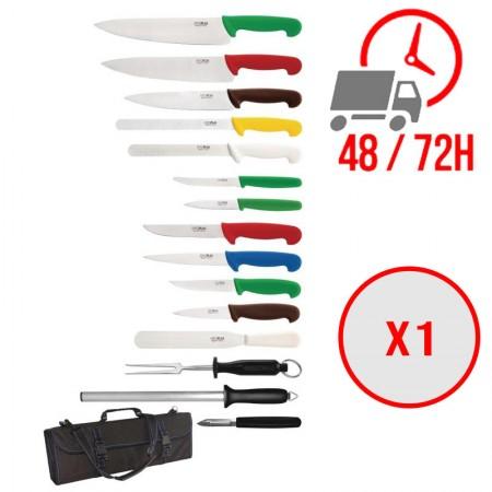 Ensemble de couteaux 15 pièces / Hygiplas