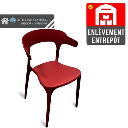 Chaise Lana - Rouge | Enlèvement entrepôt / RESTONOBLE