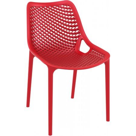 Chaise Elif - Rouge / RESTONOBLE