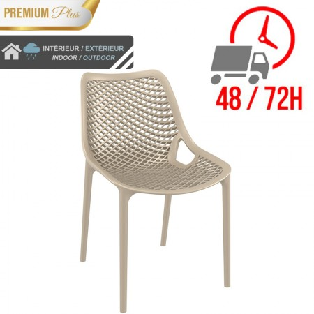 Chaise Elif - Taupe / RESTONOBLE