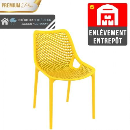 Chaise Elif - Jaune / RESTONOBLE | Enlèvement entrepôt