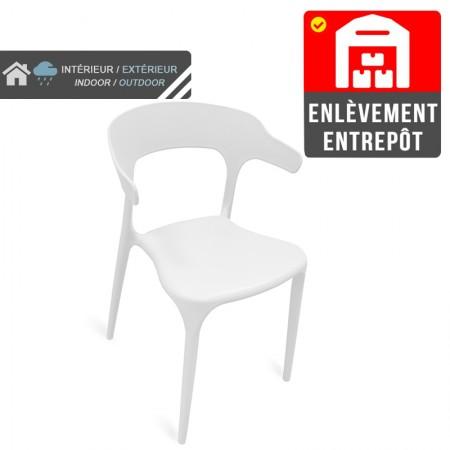 Chaise Lana - Blanc | Enlèvement entrepôt / RESTONOBLE