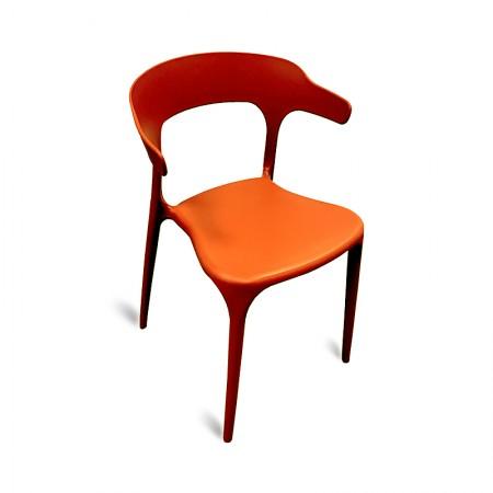 Chaise Lana - Orange | Enlèvement entrepôt / RESTONOBLE