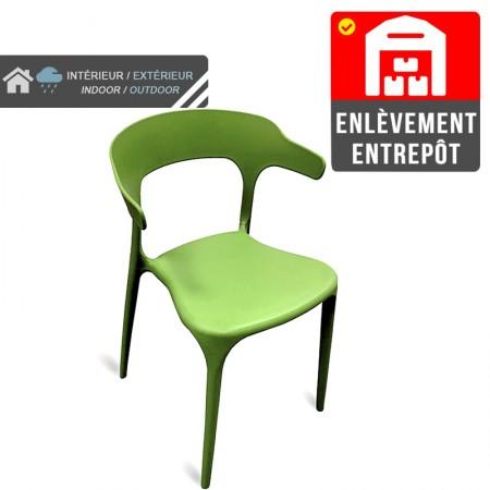 Chaise Lana - Vert | Enlèvement entrepôt / RESTONOBLE