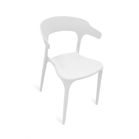 Chaise Lana - Blanc / RESTONOBLE