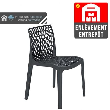 Chaise Jade - Noir | Enlèvement entrepôt / RESTONOBLE