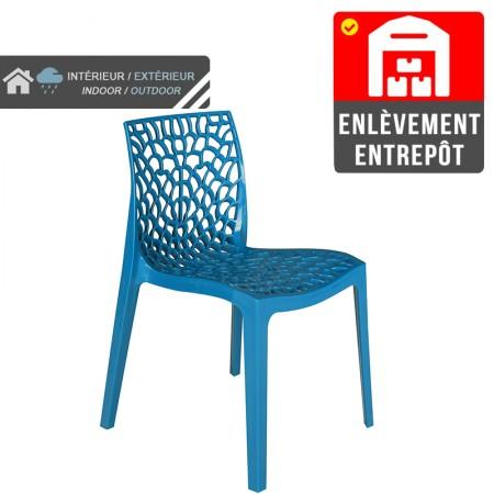 Chaise Jade - Bleu | Enlèvement entrepôt / RESTONOBLE