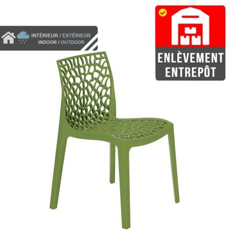Chaise Jade - Vert | Enlèvement entrepôt / RESTONOBLE