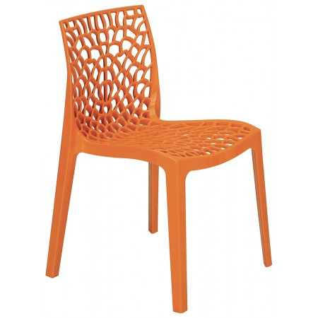 Chaise Jade - Orange / RESTONOBLE