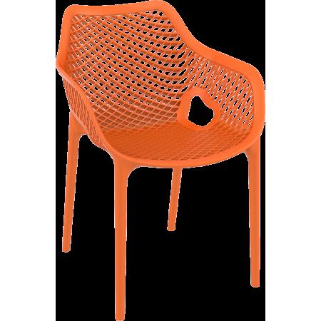 Fauteuil Elif - Orange / RESTONOBLE