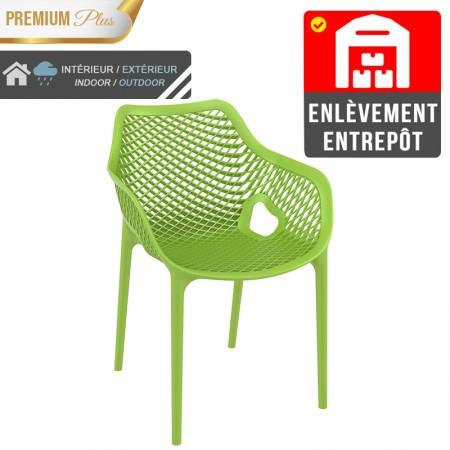 Fauteuil Elif - Vert / RESTONOBLE | Enlèvement entrepôt