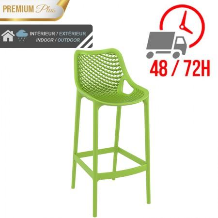 Chaise de bar Elif - Vert / RESTONOBLE