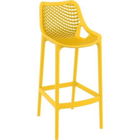 Chaise de bar Elif - Jaune / RESTONOBLE