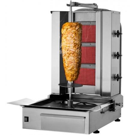 Machine à kebab Gaz 3 feux / KALITEGAZ