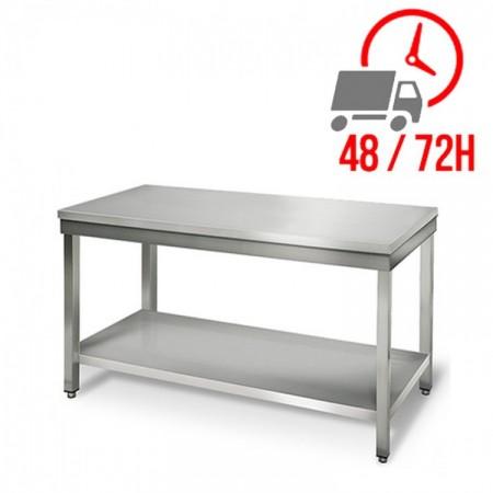 Table inox 1200 x 700 mm / RESTONOBLE