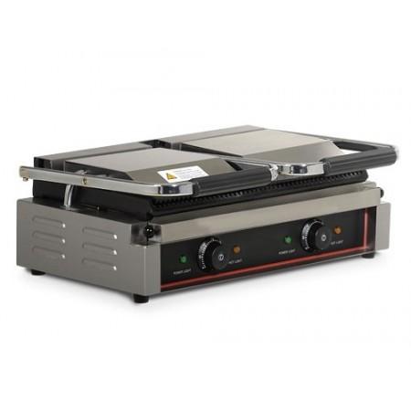 Contact grill 570mm - Rainuré