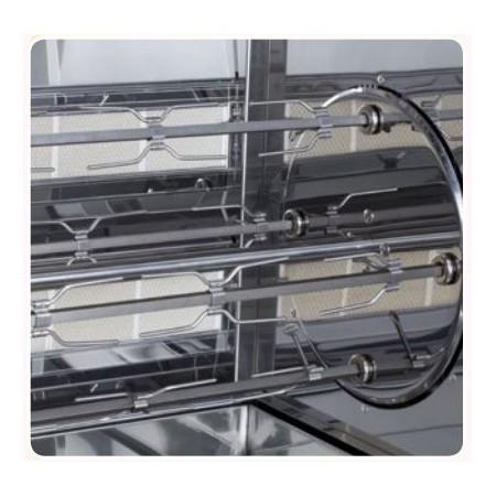 Broche pour rôtissoire multi-rotative - Série UOC
