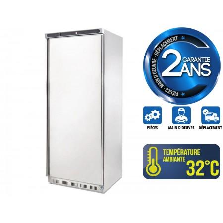 Réfrigérateur inox 600 L / 1 porte