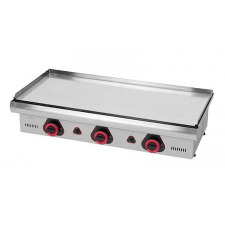 Plaque de cuisson électrique 900 x 390 mm - Chromée