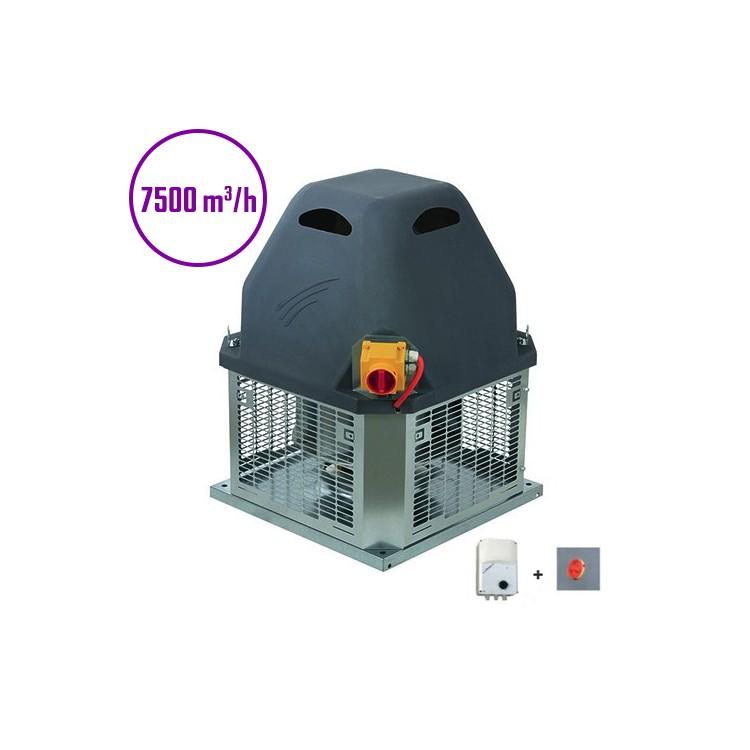 Tourelle d'extraction - 7500m3/h