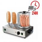 Machine à Hot-dog 4 broches