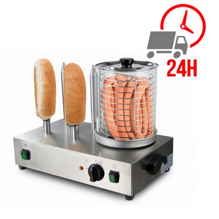 Machine à Hot-dog 4 plots - 230V / RESTONOBLE