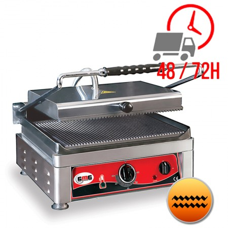 Contact Grill Rainuré Haut et Bas - 450x270mm