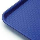 Plateau de service bleu 345x265mm - LOT DE 10