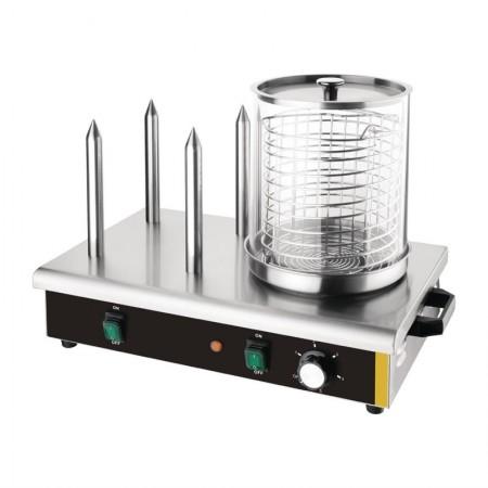 Machine à Hot-dog 4 plots - 230V / BUFFALO